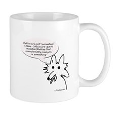 Shelties are not minature Collies Mugs