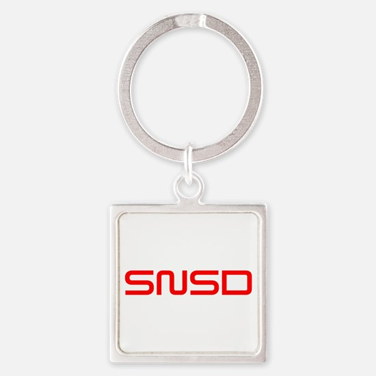 snsd-saved-red Keychains