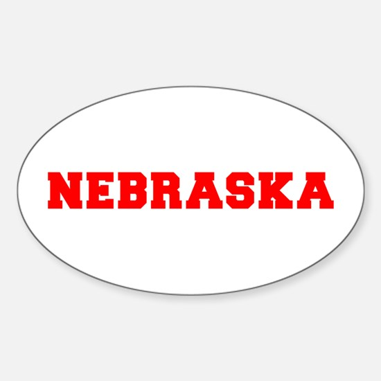 nebraska-fresh-red Decal