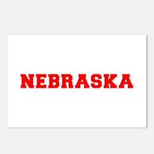 nebraska-fresh-red Postcards (Package of 8)