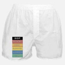 GOP Terror Alert Level Boxer Shorts