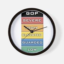 GOP Terror Alert Level Wall Clock