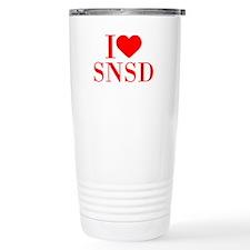 I-love-snsd-bod-red Travel Mug