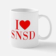 I-love-snsd-bod-red Mugs