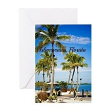 Islamorada, Florida - Day at the Bea Greeting Card