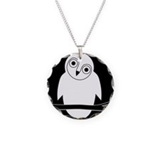 owl eule owlet kauz moon mon Necklace