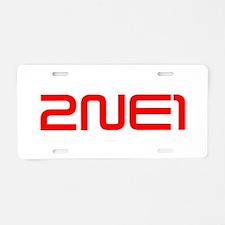 2ne1 Aluminum License Plate
