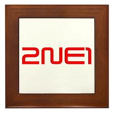 2ne1 Framed Tile