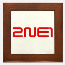 2ne1 Framed Tile