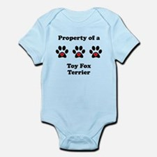 Property Of A Toy Fox Terrier Body Suit