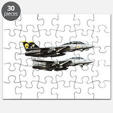 F-14 Tomcat Fighter Puzzle