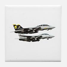 F-14 Tomcat Fighter Tile Coaster