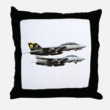F-14 Tomcat Fighter Throw Pillow
