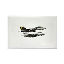 F-14 Tomcat Fighter Rectangle Magnet