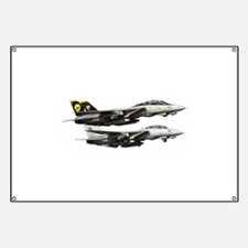 F-14 Tomcat Fighter Banner