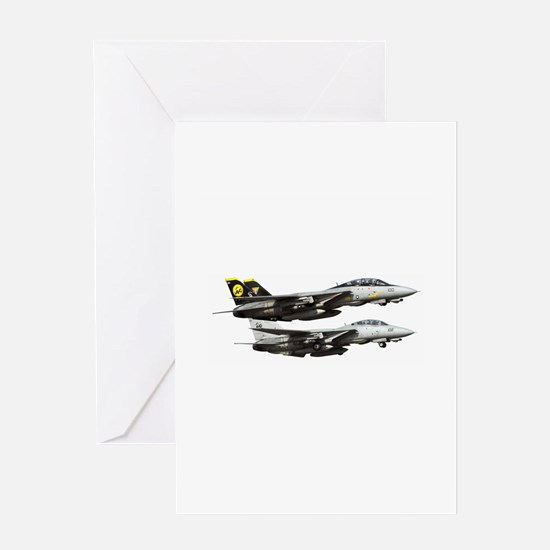F-14 Tomcat Fighter Greeting Card