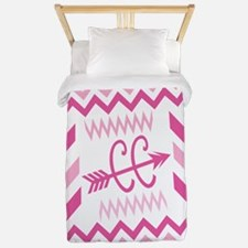 PINKs Cross Country ZigZags Twin Duvet