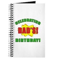 Celebrating Dad's Birthday Journal