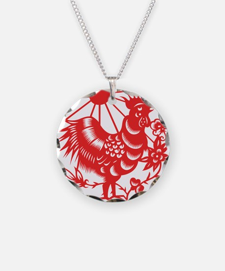 Zodiac, Year of the Rooster Necklace