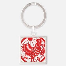 Zodiac, Year of the Rooster Keychains