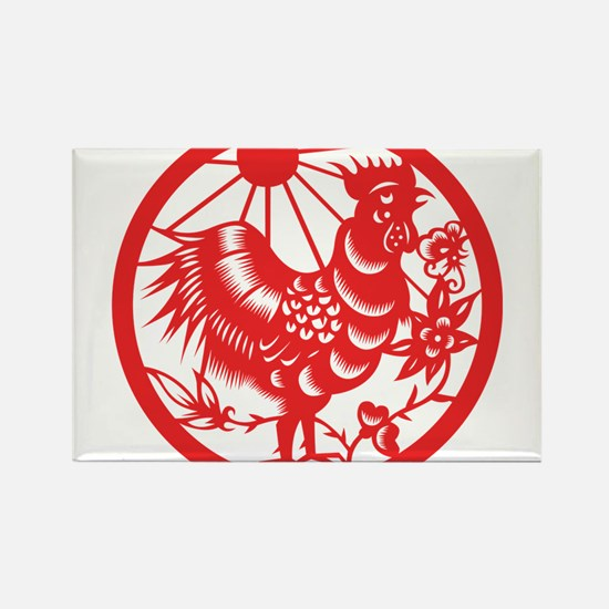 Zodiac, Year of the Rooster Magnets