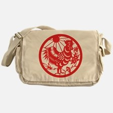 Zodiac, Year of the Rooster Messenger Bag