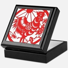 Zodiac, Year of the Rooster Keepsake Box