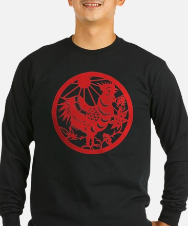 Zodiac, Year of the Rooster Long Sleeve T-Shirt