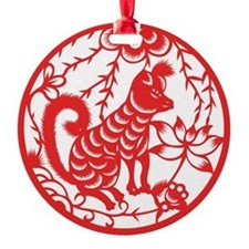 Zodiac, Year of the Dog Ornament