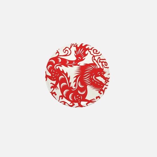 Zodiac, Year of the Dragon Mini Button