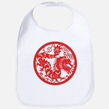 Zodiac, Year of the Dragon Bib