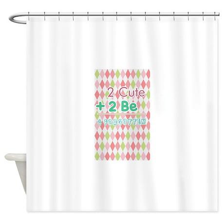 2 Cute Shower Curtain