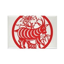 Zodiac, Year of the Goat Magnets