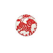 Zodiac, Year of the Horse Mini Button