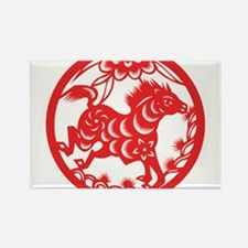 Zodiac, Year of the Horse Magnets