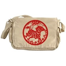 Zodiac, Year of the Horse Messenger Bag