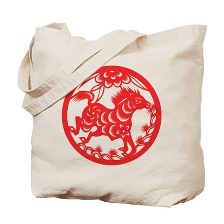 Zodiac, Year of the Horse Tote Bag