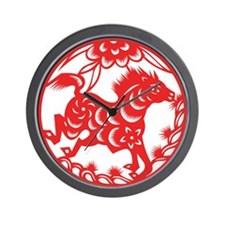 Zodiac, Year of the Horse Wall Clock