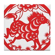 Zodiac, Year of the Horse Tile Coaster