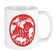 Zodiac, Year of the Horse Mugs
