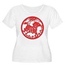 Zodiac, Year of the Horse Plus Size T-Shirt