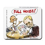 Putin And Obama Poker Mousepad