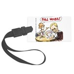 Putin And Obama Poker Luggage Tag