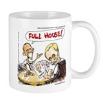 Putin And Obama Poker Mugs
