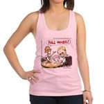 Putin And Obama Poker Racerback Tank Top