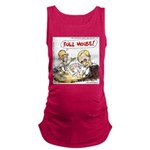 Putin And Obama Poker Maternity Tank Top