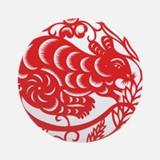 Zodiac, Year of the Mouse Ornament (Round)