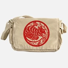 Zodiac, Year of the Mouse Messenger Bag