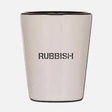 rubbish-CAP-GRAY Shot Glass