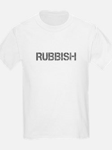 rubbish-CAP-GRAY T-Shirt